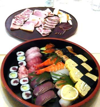 お寿司とハム.jpg