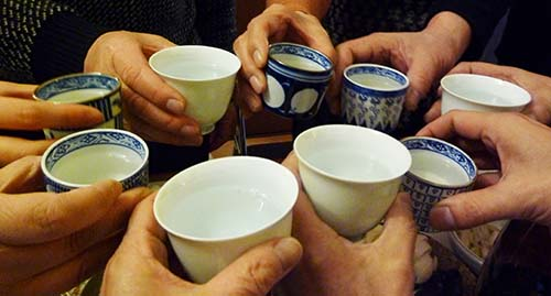 01日本酒乾杯