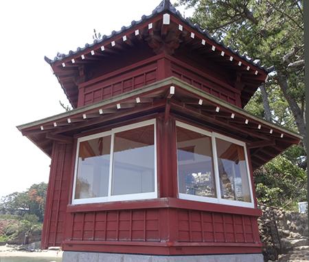 岡倉天心が建てた六角堂