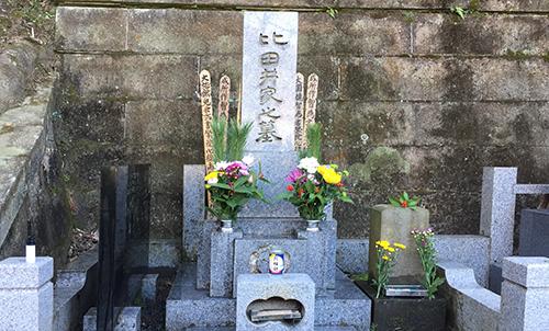 比田井家墓
