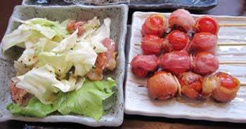 トマト串とキャベツ.jpg