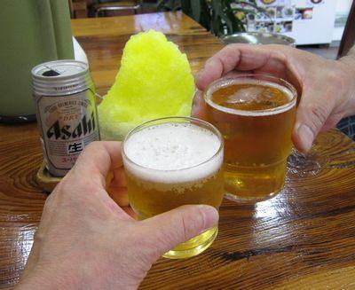 101 ビールとかき氷.jpg